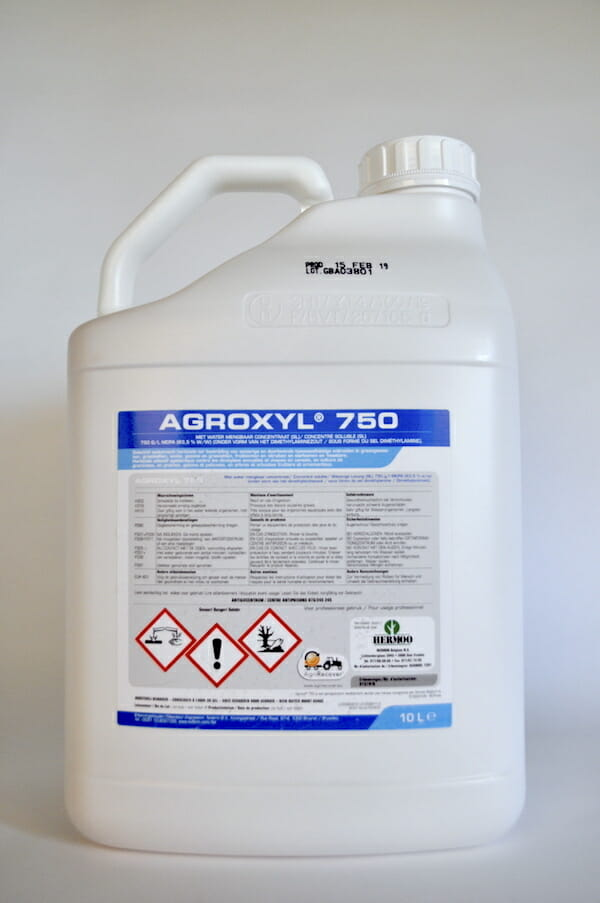agroxyl 750 (9157P/B) 10 liter herbicide MCPA selectief onkruidbestrijdingsmiddel grasland