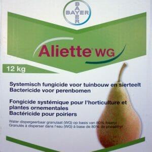 aliette wg (8692P/B) fosethyl bloembotsterfte stengelbasisrot wortelrot wortelphythopthora