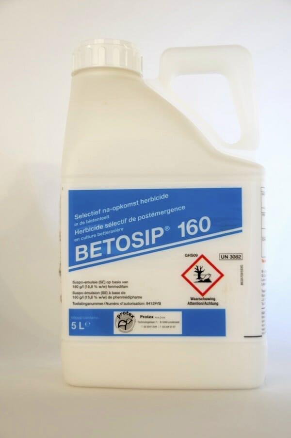 betosip 160 (9412P/B) fenmedifam selectief herbicide eenjarige tweezaadlobbige onkruiden