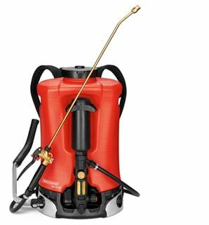 birchmeier rugsproeier iris 15 liter reservoir pompcapaciteit