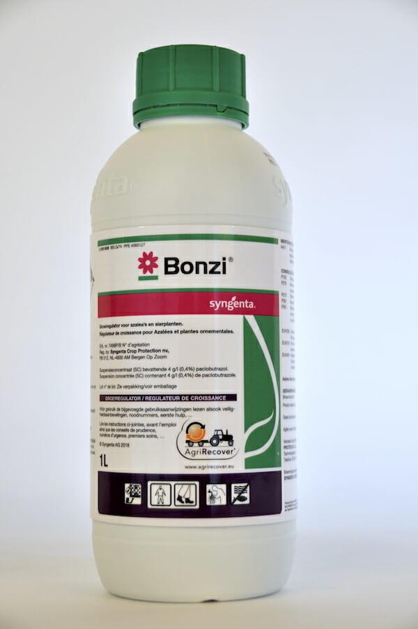 bonzi (7498P/B) groeiregulator paclobutrazol groeiregulator scheutvorming bladvorming bloemstelen