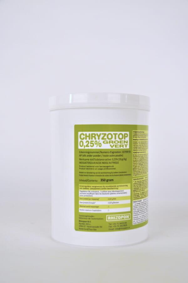 chryzotop (10799P/B) indolylboterzuur groeiregulator gebruiksklaar stekpoeder wortelvorming indolylboterzuur