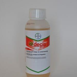 decis (7172P/B) 1 liter insecticide contactwerking deltamethrin
