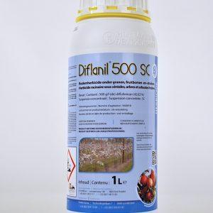diflanil 500 sc (9408P/B) diflufenican herbicide 1 liter nawerking kiemen onkruiden voorkoming
