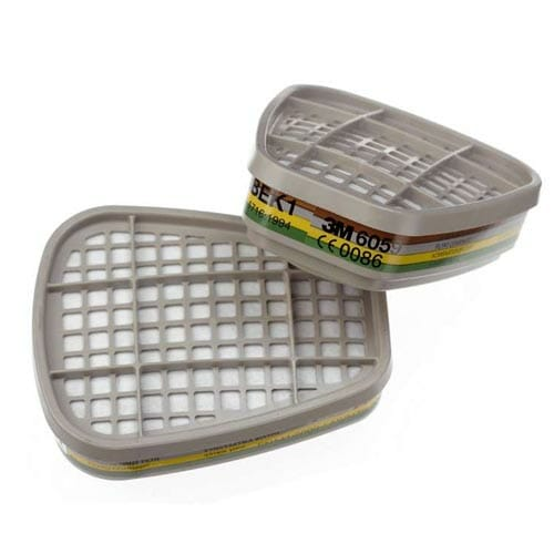 3m filterset ABEK1 volgelaatsmasker halfgelaatsmasker