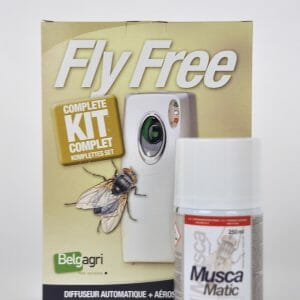 fly free kit muscamatic (9807B) insecticide biocide