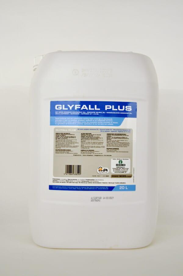 glyfall plus (10512P/B) 20 liter glyfosaat totaalherbicide onkruiden glyfosaat