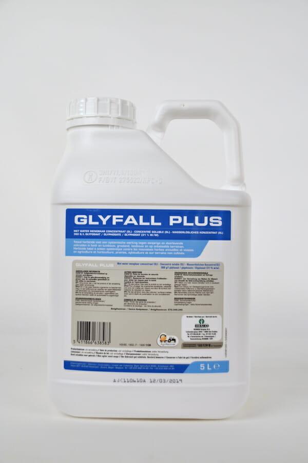 glyfall plus (10512P/B) totaalherbicide systemische onkruiden glyfall herbicide