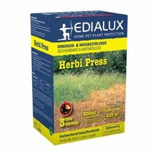 herbi press (10786G/B) pelargonzuur 500ml herbicide onkruid mosbestrijder behandeling
