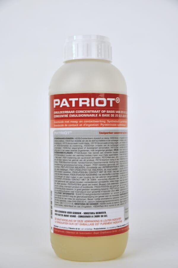 patriot (9207P/B) insecticide maagwerking contactwerking deltamethrin