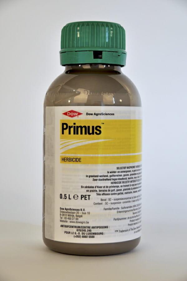 primus (9074P/B) 500ml florasulam selectief bladherbicide systemische gewasbeschermingsmiddel onkruiden