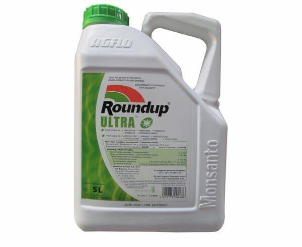 roundup ultra (8504P/B) totaalherbicide herbicide glyfosaat onkruid grassen