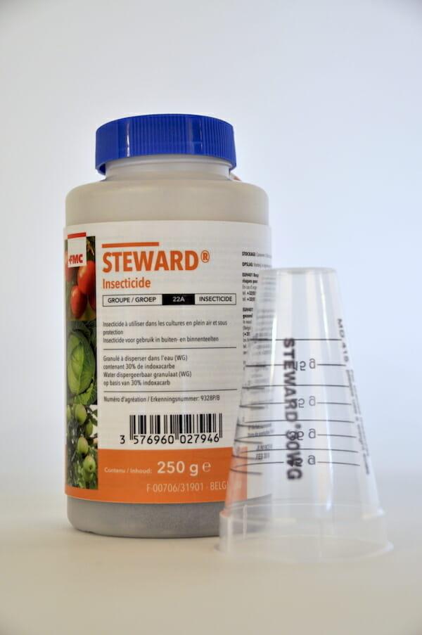 steward (9328P/B) 250gram indoxacarb insecticide buxusmot fruitmot