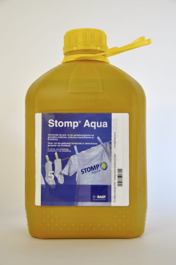stomp aqua (9839P/B) pendimethalin bodemherbicide tweezaadlobbige onkruid ereprijs