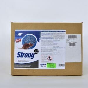 strong biocide rodenticide 500X25gram muizen ratten lokaas bestrijden brodifacoum