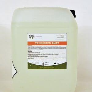 tensiodes quat (6107B) (12384N) didecyldimethylammoniumchloride 10 liter fungicide herbicide bactericide biocide groene aanslag bacteriën