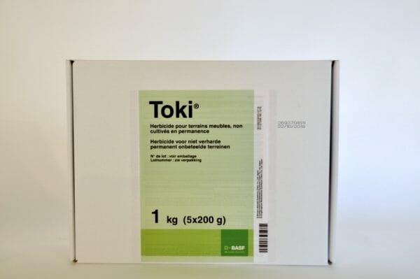 toki (9702P/B) flumioxazine bodemherbicide grassen mossen breedbladigen