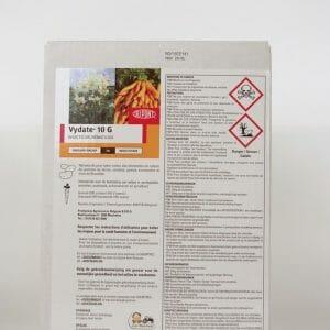 vydate 10G (6591B) biocide oxamyl systemisch insecticide nematicide (bodem)insecten
