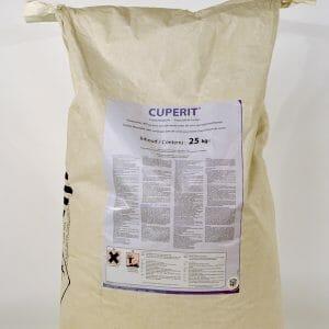 cuperit (32P/B) koperoxychloride fungicide valse meeldauw schurft