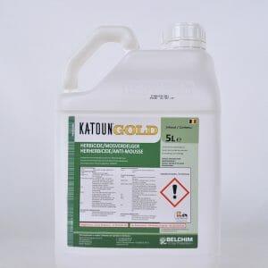 katoun gold (10628P/B) contactwerking pelargonzuur herbicide mosbestrijder