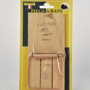 ratten vangklem hout bestrijden vangen rattenval rattenklem klem