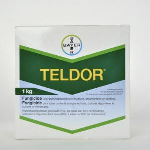 teldor (9059P/B) fenhexamid fungicide preventieve contactwerking nawerking