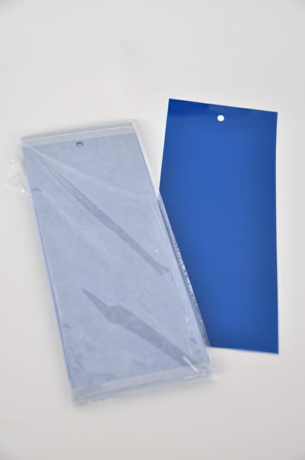 vangkaart blauw biologisch bestrijden insecten trips lokwerking tripsen