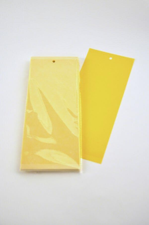 vangkaart geel biologisch bestrijden detecteren insecten